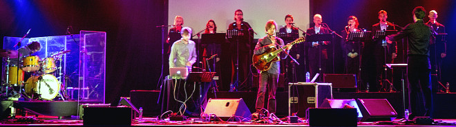 Bram Stadhouders Trio en Nederlands Kamerkoor: 'Henosis' Music Meeting Nijmegen