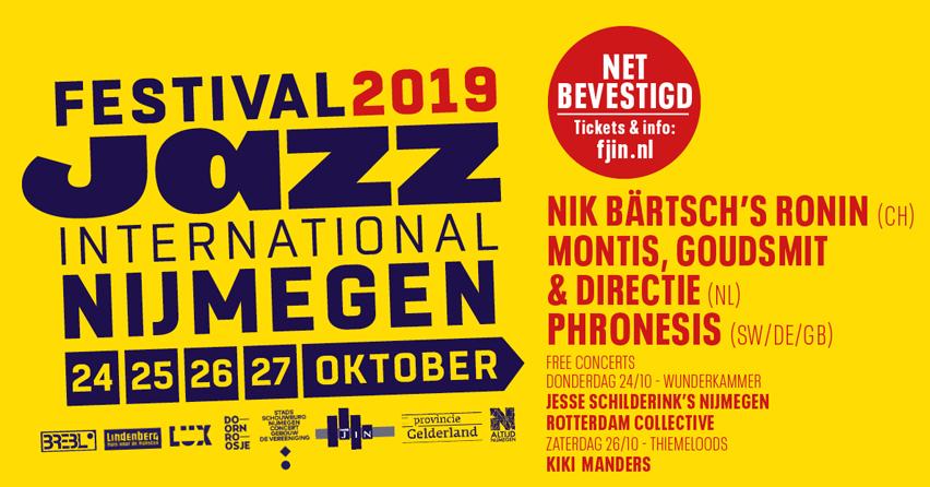 Nijmegen jazz 2019
