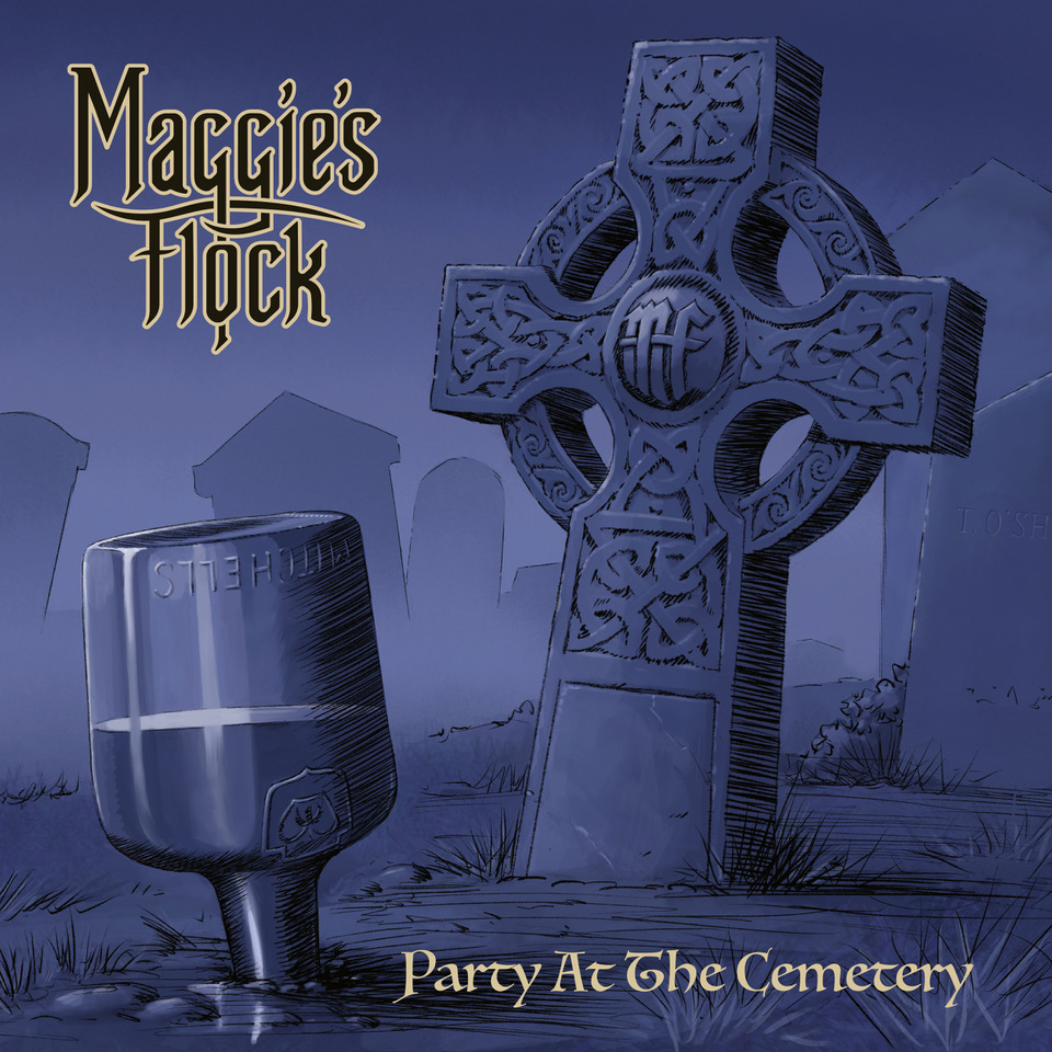 Party at the Cemetery album cover front (Official Artwork)5000x5000